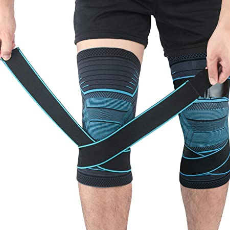 Improved Circulation for Joint Pain and Arthritis Relief Dolloress Basketball Sports Knee Sleeves ⭐Recovery
