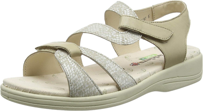Padders Plus Women's Heels Open Toe Sandals