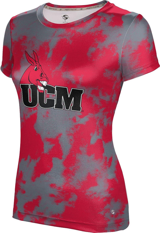 ProSphere University of Central Missouri Girls' Performance T-Shirt (Grunge)