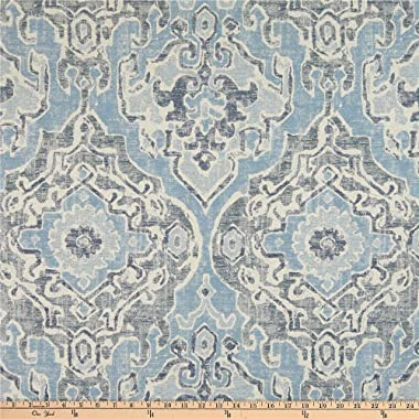 Waverly Izmir Rug Jacquard Chambray Fabric by the Yard