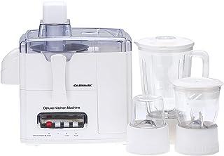 Olsenmark 600W 4-in-1 Food Processor & Juicer - Multifunctional Smoothie Maker, Juicer, Compact Electric Blender, Chopper...