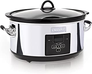 Crock-pot SCCPVF710-P Slow Cooker, 7 Quart, Polished