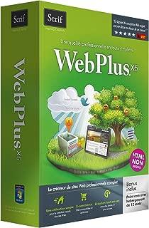 Serif WebPlus X5 - English/French - Bilingual