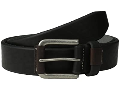 Johnston & Murphy Wrapped Buckle (Black) Men