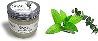 Yogis arnica eucalyptus and peppermint cream salve. Made with arnica montana. 100% natural ingredients without chemical preservatives. Organic-environmentally friendly. 2 oz. Excellent for pain relief