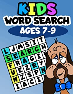 Kids Word Search Ages 7-9: Learning made fun
