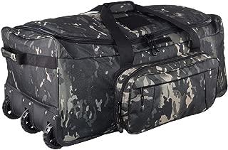 Military Wheeled Deployment Bag Tactical Camo Heavy Duty Duffel Bag