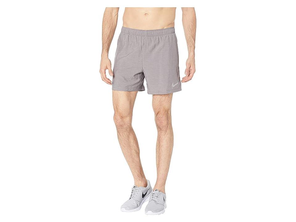 Nike Challenger 5 Running Short (Gunsmoke/Gunsmoke/Gunsmoke) Men