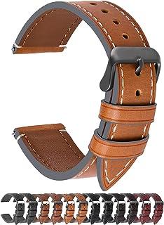 Fullmosa Wax Correa Reloj Piel,6 Colores para Correa Huawei Samsung, Correa/Banda/Band/Pulsera/Strap de Recambio/Reemplazo...