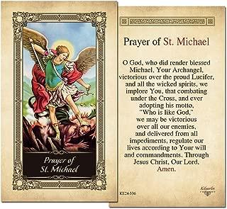 prayer card st michael