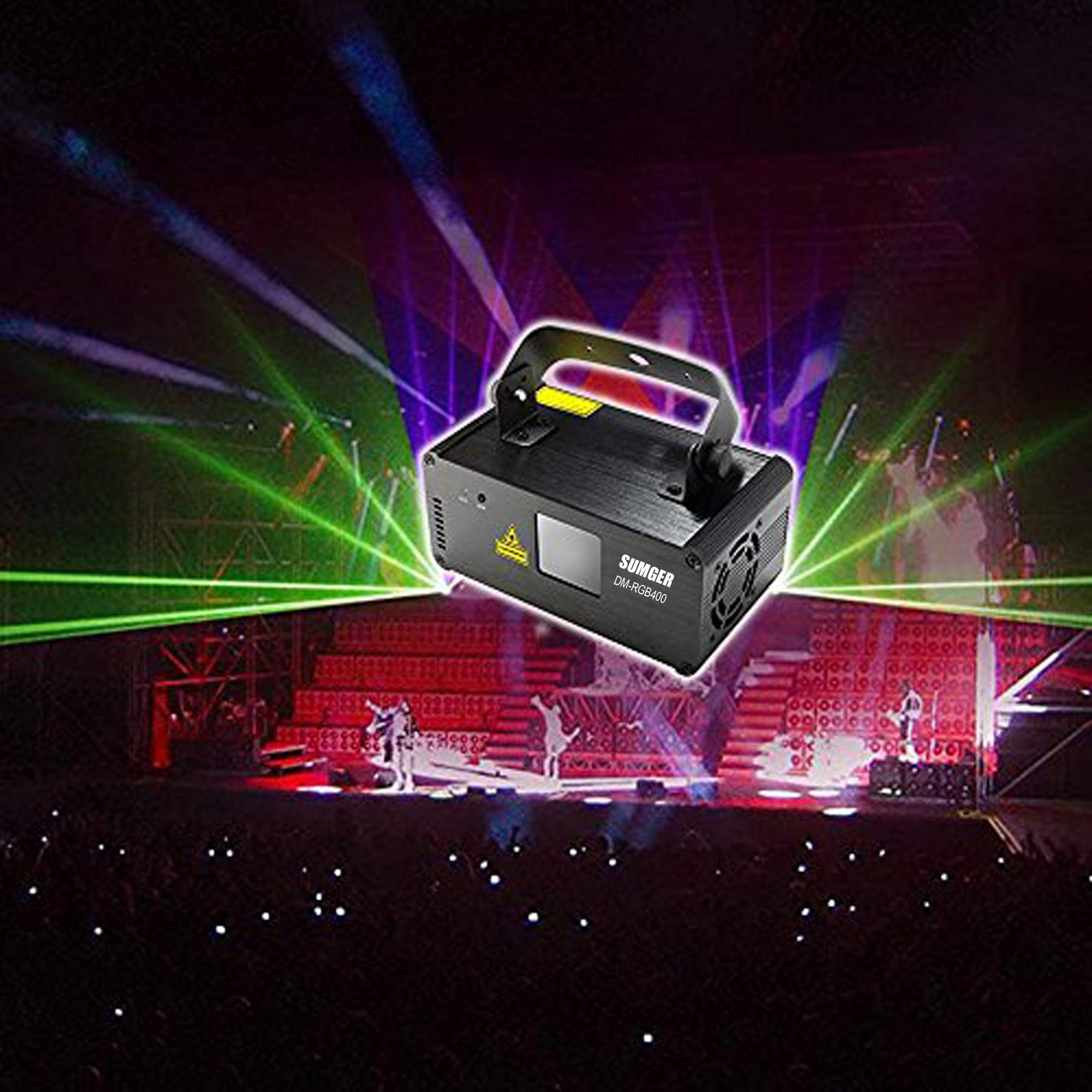 Sumger Professional Projector illumination Activated