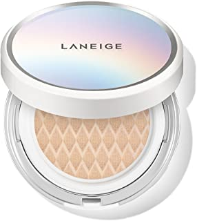 Laneige BB Cushion Whitening SPF 50 Foundation and Refill No. 21 Beige for Women, 2 x 0.5 oz, 2 count