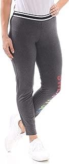 MATERIAL GIRL Womens Gray Sweat Graphic Leggings Juniors US Size: L