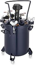 Chrisun Drukvat, 30 l, verfreservoir met roermechanisme met automatische luchtmenging, verfcontainer, druksproeier, druksp...