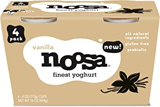 Noosa Yoghurt, Vanilla, 4-pack, 16 oz