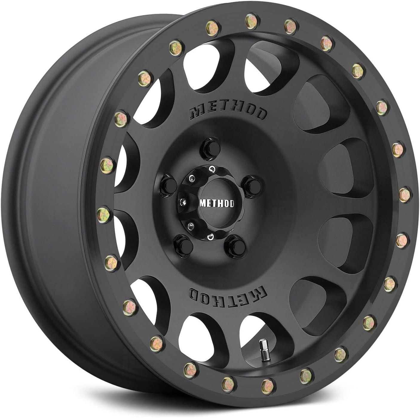 Method Race Wheels 105 Beadlock Matte High quality Manufacturer OFFicial shop Off 38mm 17x9 Black 5x4.5