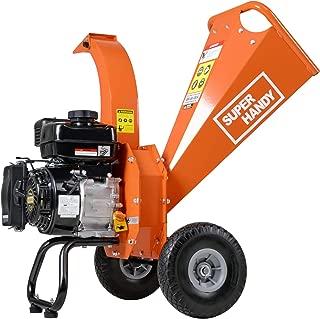 SuperHandy Wood Chipper Shredder Mulcher 7HP Gas Powered Max 3