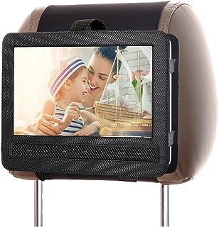 ZugGear DVD Player Headrest Mount Holder Portable DVD Player Mount Car Back seat Headrest Holder for Swivel & Flip Portabl...