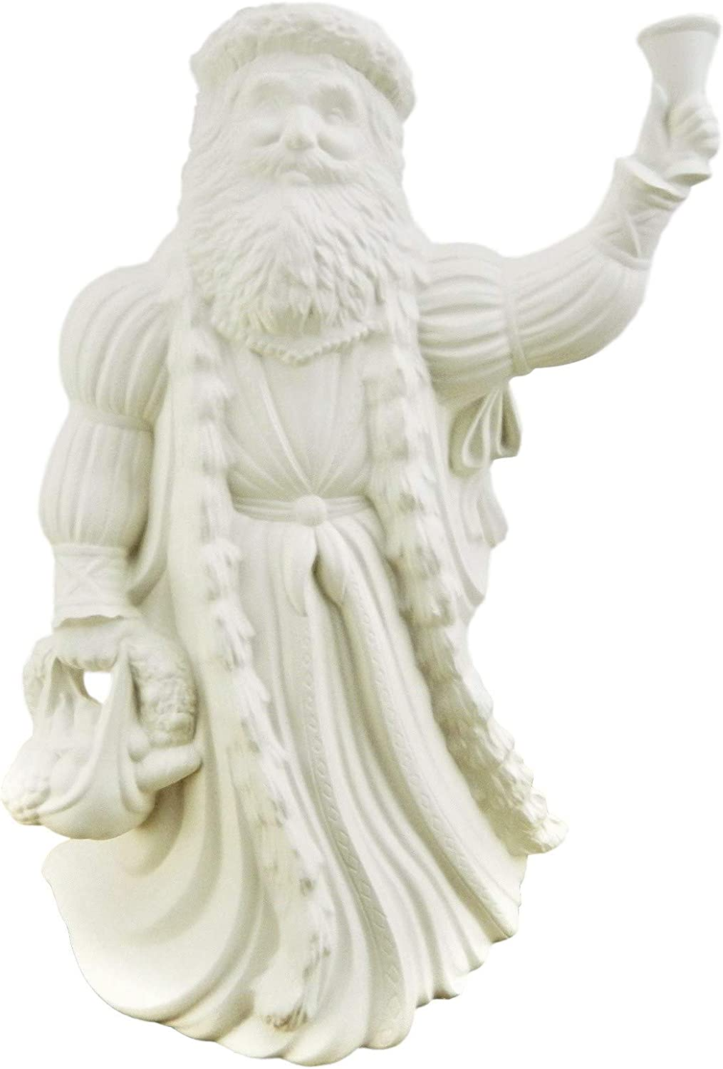 Free shipping on posting reviews Old World English Santa with Bell -10