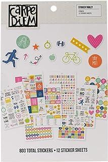 لوحة ملصقات للياقة البدنية كارب ديم من سيمبل ستوريز