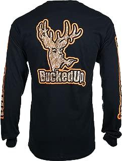 BUCKED UP Men's Buckskin Logo Long Sleeve Shirt - 316828