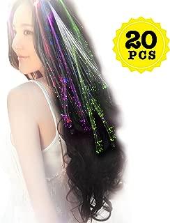 light up hair braids