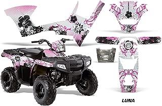 AMR Racing Graphics Kit for ATV Polaris Sportsman 90/110 2007-2016 LUNA PINK