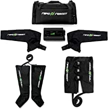 Rapid Reboot Complete Package: Compression Boot, Arm, Hip, Pump, Duffel. Sequential air Compression Therapy for Improved Circulation and Workout Recovery for Athletes