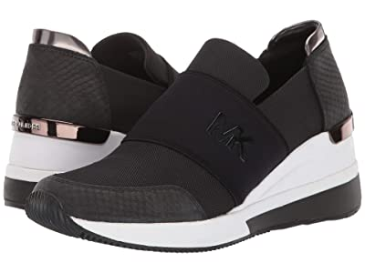 MICHAEL Michael Kors Felix Trainer (Black 2) Women