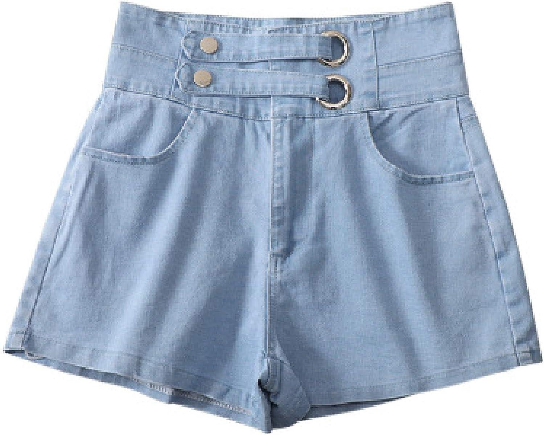 Zestion Women's Super beauty product restock quality top High-Waist Shorts Colo Regular dealer Patchwork Stitching Plain