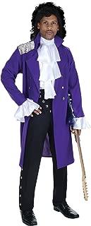 Men's 80s Royal Purple Pop Star Costume