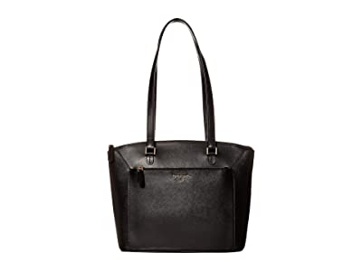 Kate Spade New York Louise Medium Tote (Black) Handbags
