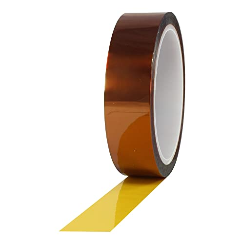 ProTapes Pro 950 Polyimide Film Tape, 7500V Dielectric Strength, 36 yds Length x 1