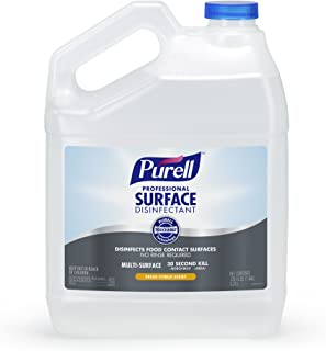 PURELL Professional Surface Disinfectant, Fresh Citrus Scent, 1 Pour Gallon Disinfectant (Pack of 4) - 4342-04