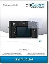 disGuard Pellicola Protettiva [Crystal Clear] Compatibile con Leica M Monochrom Typ 246 [2 Pezzi] Cristallino, Transparente, Invisibile, Ultra Resistente, Effetto Anti-Impronte - Proteggi Schermo
