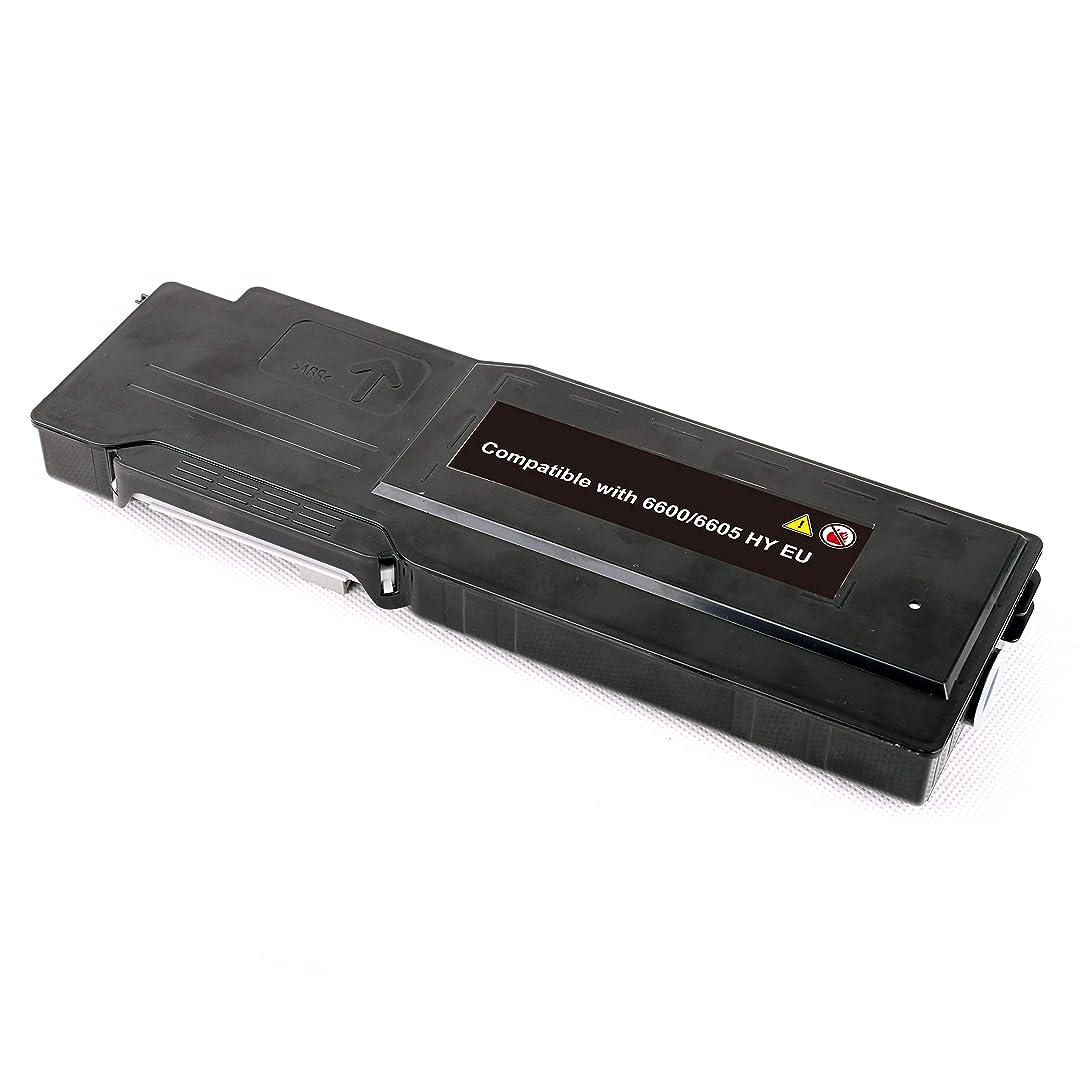 PRINT-RITE 106R02228 BK XER 6600 XER 6605 Xerox6600 Black Toner Cartridge 8000 Page Yield 1 Pack Compatible for XEROX Phaser 6600DN/6600N/WorkCentre 6605DN/6605N Printer