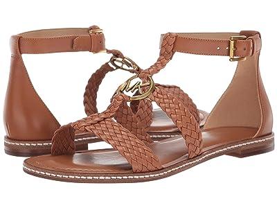 MICHAEL Michael Kors Piper Flat Sandal (Acorn) Women
