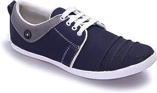 HEEDERIN Men's Blue Mesh Lace up Comfortable Sneaker 10 UK