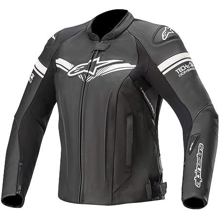 Black Alpinestars Womens Stella Jaws Perforated Leather Jacket 44