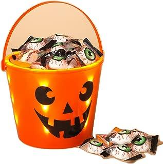 Gerson Halloween Trick or Treat Light Up Bucket