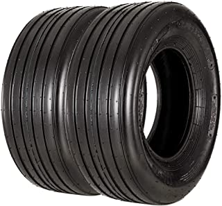 VANACC 11L-15 Agricultural Tractor Tires 12ply Multi Rib Farm Implement Tire, A8, Set of 2