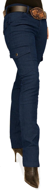 Blue Banana - Skinny Combat Cargo Stretchy Pants