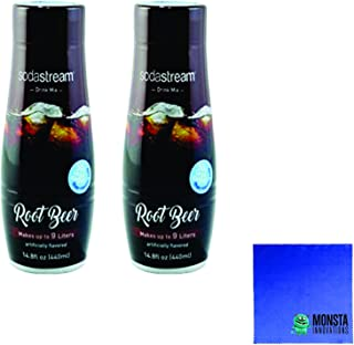 SodaStream 14.8 fl Root Beer Syrup- Twin Pack Value Bundle