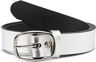 Merry Style Cintura Donna in 100% Vera Pelle 3 cm Extra-Spessa D41