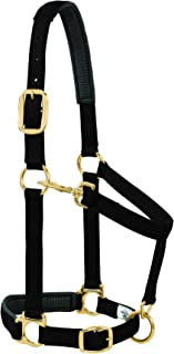 Weaver Leather Padded Adjustable Chin and Throat Snap Halter, 1