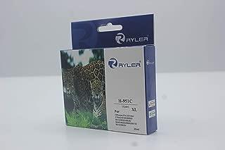 Ryler compatible Ink Cartridges for HP H-951XLC XL-Cyan