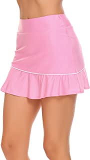 Chigant Mini Skirts Skorts for Active Sports