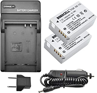 1 hour AC//DC Dual Battery Rapid Charger For The Canon Canon PowerShot SX40 SX50 HS /& 2 Extended Life Replacement Battery Packs For the Canon NB10L NB-10L 1200MAH Each 3000MAH in Total For The Canon PowerShot SX40 SX50 HS /& G1 X DSLR 2 Batteries In Total