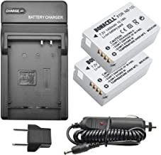 Bonacell NB-10L Battery and Charger Kit Compatible with Canon CB-2LC Charger and Canon PowerShot G1 X, G3 X, G15, G16, SX40 HS, SX50 HS, SX60 HS Digital Cameras(2 Pack