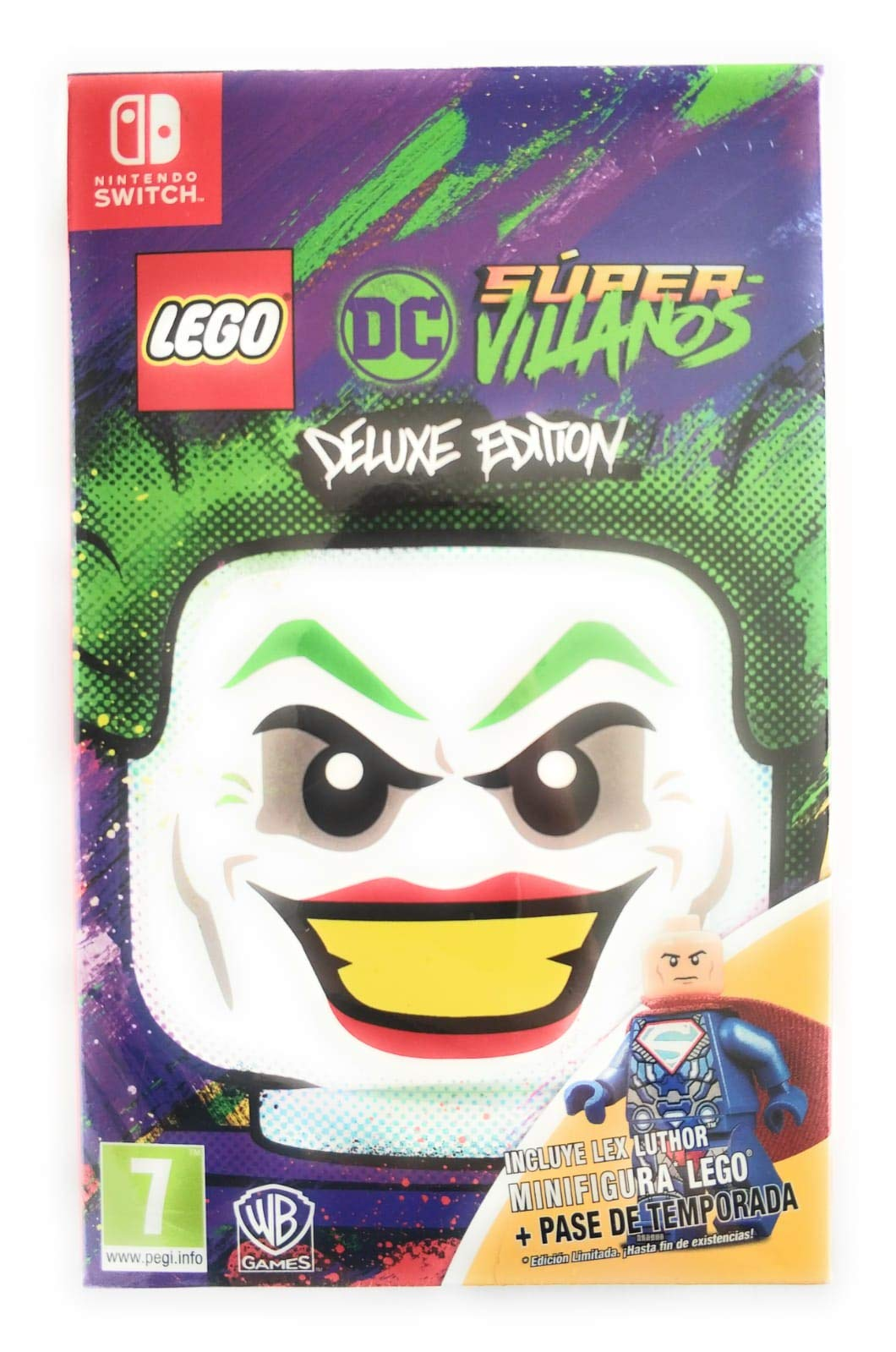 Lego DC Super Villanos Deluxe Edition Nintendo Switch: Amazon.es ...